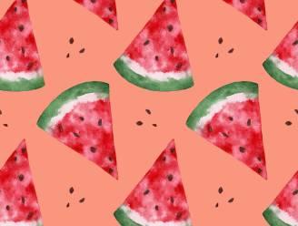 Met deze truc koop je áltijd een rijpe watermeloen