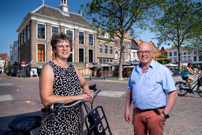 Brigit Groenveld en Bertjan Kers.