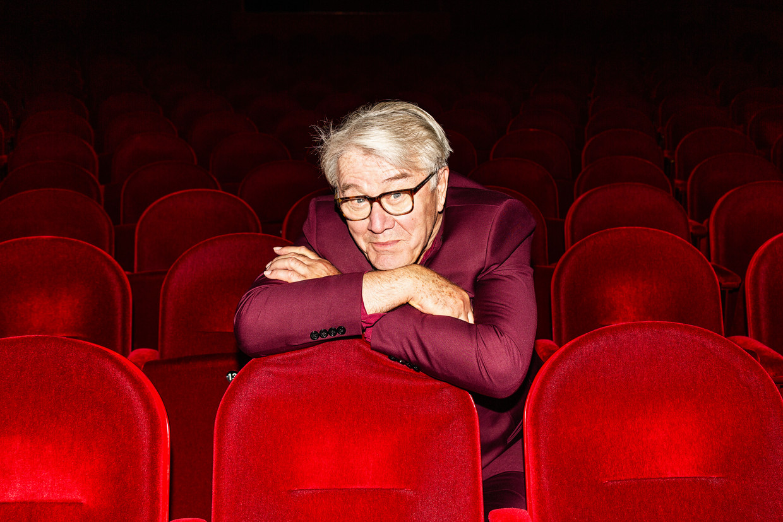 Barrie Stevens: 'Ik ben meer dan die knuffelbeer.' Beeld Ruud Janssen, met dank aan DeLaMar Theater.