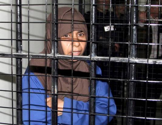 De Iraakse terroriste Sajida al-Rishawi werd vanmorgen opgehangen.