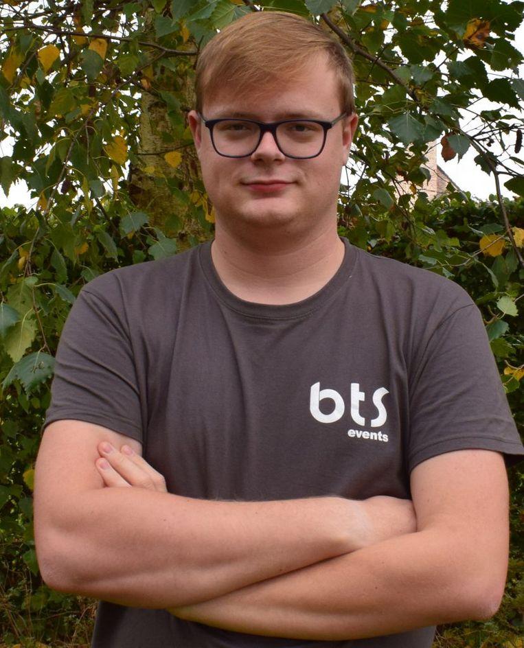 Ben Cabuy, een van de zaakvoerders van BTS Events. Beeld RV