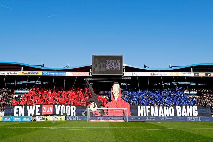 De Willem II-supporters zijn voor niemand bang, maar in Tilburg valt de laatste tijd wel wat te halen voor bezoekende clubs.