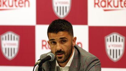 David Villa richt eigen club op en hangt ineens ook schoenen aan de haak
