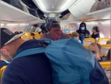 Impossible de respecter la distanciation sociale à bord d'un avion Ryanair