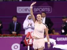 Kvitova laat haar klasse zien op Qatar Open