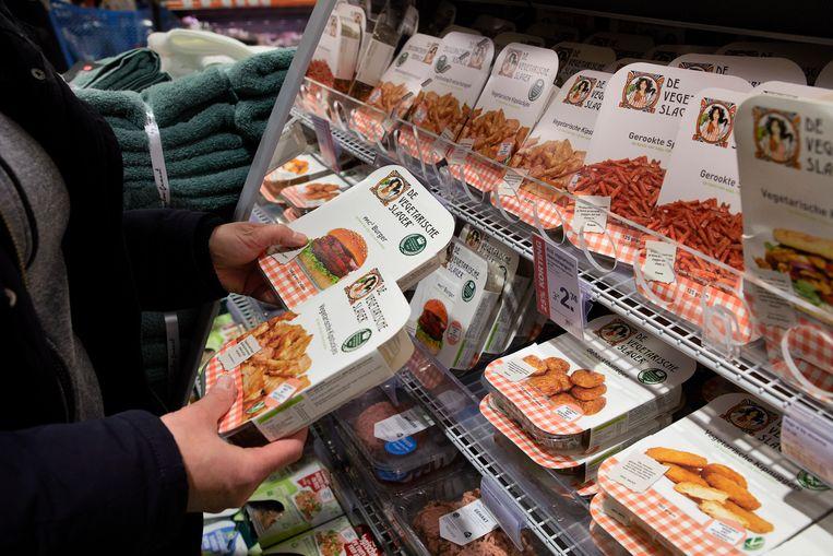 De Vegetarisch Slager hoopte als onderdeel van Unilever beter een vuist te kunnen maken tegen de vleesindustrie. Beeld Hollandse Hoogte / Jaco Klamer