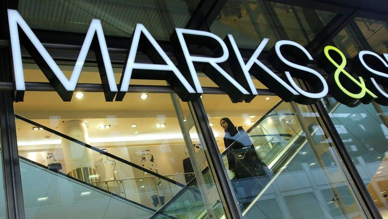 Logo van Marks&Spencer. Beeld REUTERS