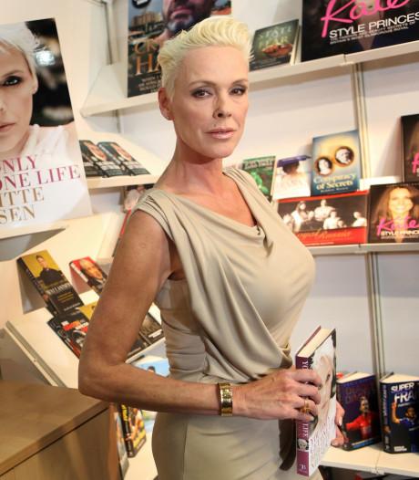 Brigitte Nielsen op haar 54ste bevallen van een dochter