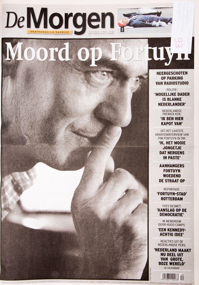7 mei 2002. De zeer populaire maar controversiële Nederlandse politicus Pim Fortuyn is voor eeuwig het zwijgen opgelegd. Beeld Studio DM