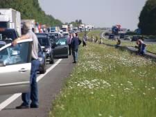 A6 van Emmeloord naar Lelystad weer vrij na ongeluk bij Ketelbrug