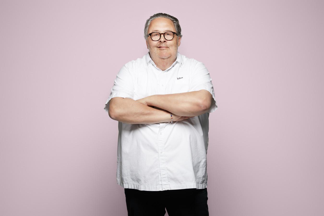 Tv-kok en culinair ondernemer Julius Jaspers.