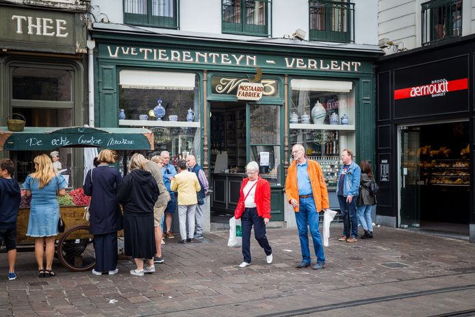 De gevel en het interieur van Tierenteyn-Verlent zijn geklasseerd.