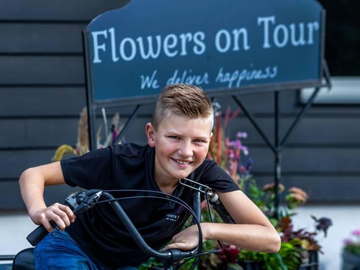 Jurre (10) heeft al een eigen bloemenwinkel: 'Stom dat de Belastingdienst zo veel van mijn winst wil hebben'