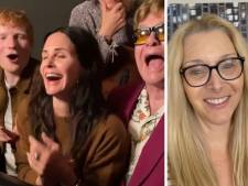 Courteney Cox, Ed Sheeran et Elton John dédient une chanson inoubliable de Friends à Lisa Kudrow