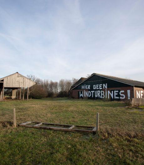 Omwonenden vechten nog te bouwen windmolens tussen Zutphen en Eefde aan bij Raad van State