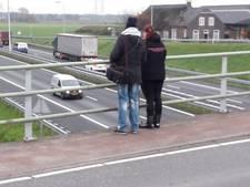 Rondje rotonde: voor Monique willen truckers bij Moergestel wel even de A58 af