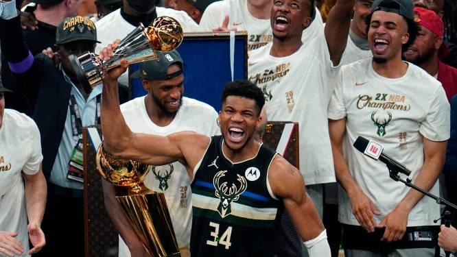 Verpletterende Antetokounmpo bezorgt de Milwaukee Bucks eerste NBA-titel in 50 jaar