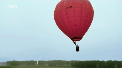Brandweer opgetrommeld voor luchtballon in nood