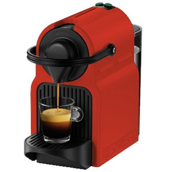 Een Nespressomachine hoeft niet enorm groot te zijn, zo bewijst de Inissia.