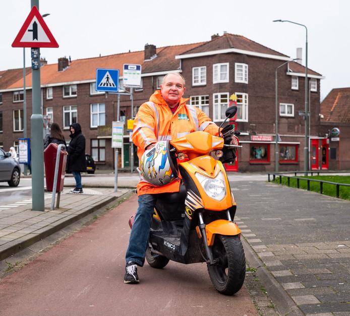 """Ruud Stehouwer redde een man uit het water. ,,Opeens zat ik bij de burgemeester, ik rekende nergens op. Wie ik? Ik voel me maar zo gewoon."""""""