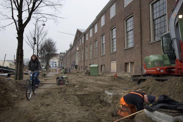 GroenLinksraadslid Maarten van der Meer noemde het bedrag voor de opening van de Hermitage (foto) 'van de pot gerukt'. Foto ANP/Marcel Antonisse Beeld