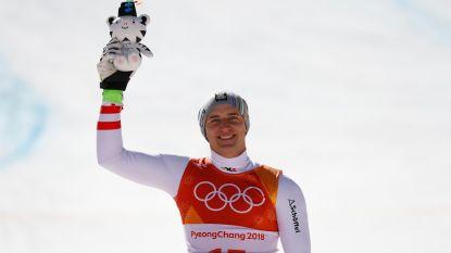 Matthias Mayer skiet naar goud in super-G