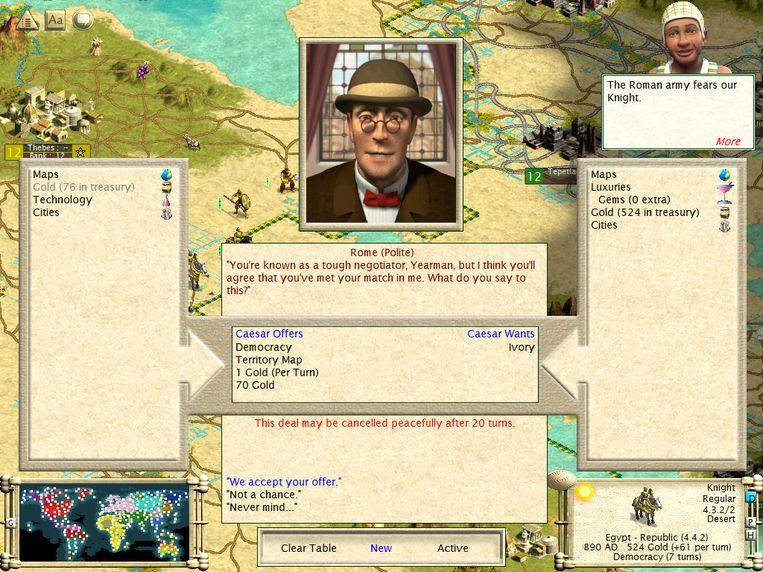 Civilization 3 Beeld Humo