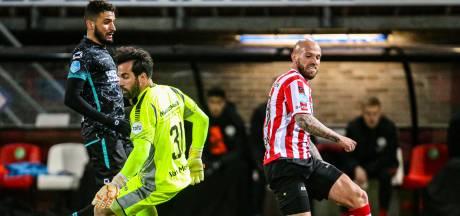 RKC-doelman Lamprou: 'Als we nog een helft gespeeld hadden, hadden we nog niet gescoord'