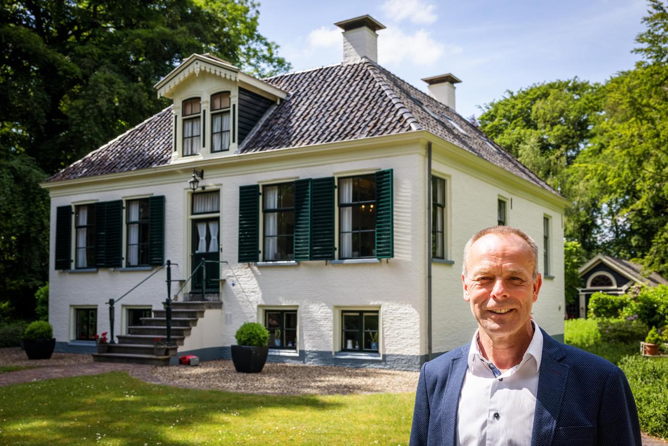 Directeur Minne Wiersma van de Koloniën van Weldadigheid, de organisatie die zich inzet voor behoud van de voormalige nederzettingen.