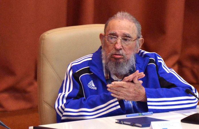 Fidel Castro, le 19 avril 2016.