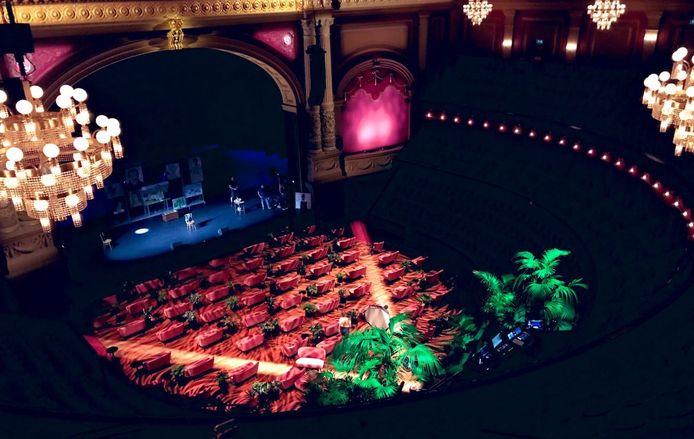 De nieuwe look van theater Carré.