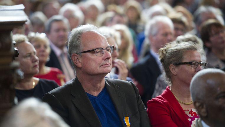 René Gude, afzwaaiend Denker des Vaderlands, overleed vannacht op 58-jarige leeftijd in zijn woning in Amsterdam. Beeld anp