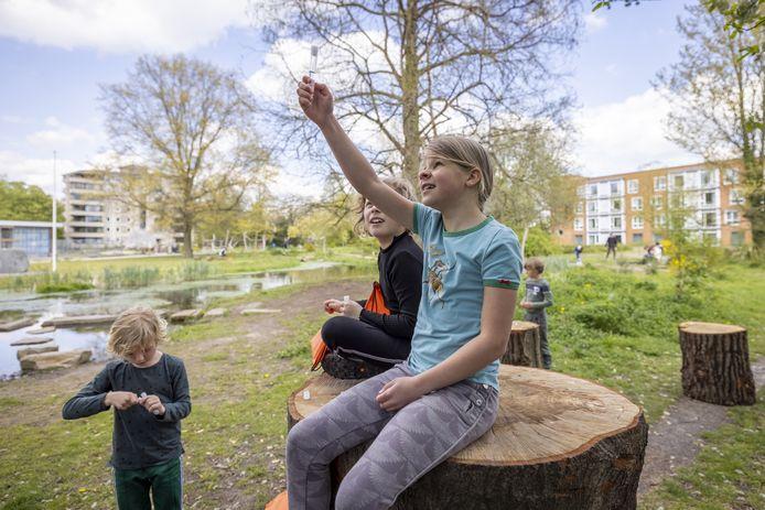 Doepark De Hagen is ook een dankbare lokatie voor de Hightour door Almelo.