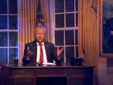 Gordon scoort met imitatie van Donald Trump: 'Kon ik maar even Biden zijn'