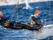 Zeilsters Berkhout en Zegers vliegen elkaar in de armen, maar zijn toch geen wereldkampioen