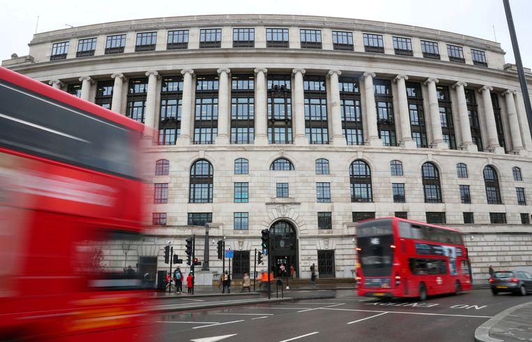 Het hoofdkantoor van Unilever in het centrum van Londen.  Beeld Reuters