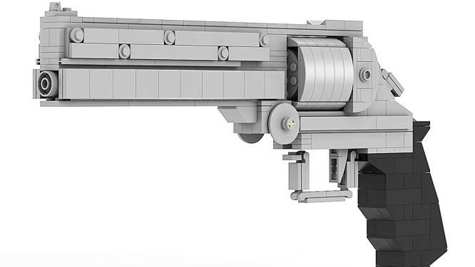 Branle-bas de combat pour un ado armé d'un fusil en Lego