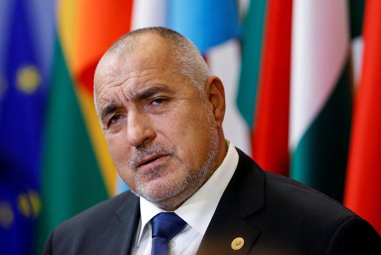 De eerste minister van Bulgarije, Boyko Borisov Beeld REUTERS