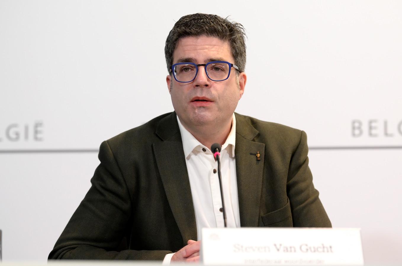 Steven Van Gucht.