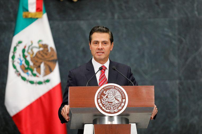 De Mexicaanse oud-president Enrique Peña Nieto. Beeld REUTERS