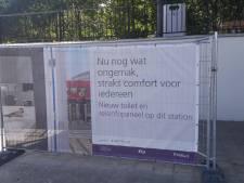 Eindelijk! De treinreiziger kan eind dit jaar naar de wc in Apeldoorn