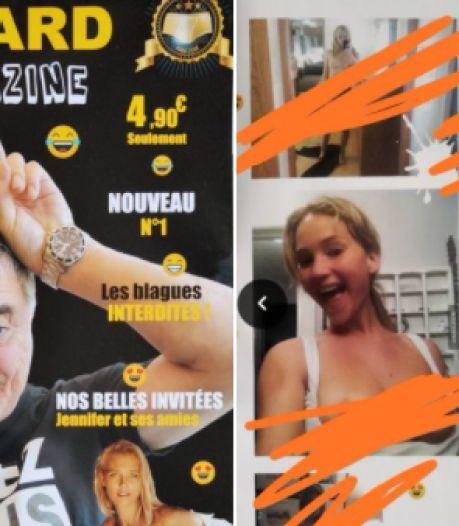 """Plongée dans le """"Bigard Magazine"""": les photos de Jennifer Lawrence qui risquent de lui coûter très cher"""