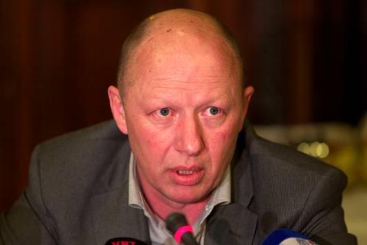 Burgemeester van Vilvoorde Hans Bonte (sp.a).