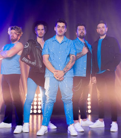Baby Blue voor het eerst met nieuwe zanger op FestyLand: 'Dit wordt Dions officiële vuurdoop'