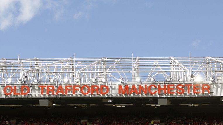 Het stadion van Manchester United. Beeld pro shots