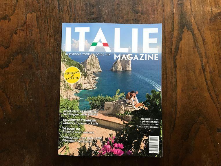 Blad Italie Magazine Beeld x