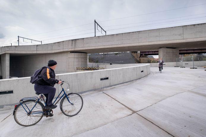 Een deel van de fietspuzzel is toegankelijk voor fietsers
