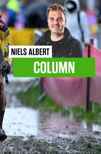 """Niels Albert schat in zijn wekelijkse column de waardeverhoudingen in voor het WK: """"Wout is mentaal iets veerkrachtiger dan Mathieu"""""""