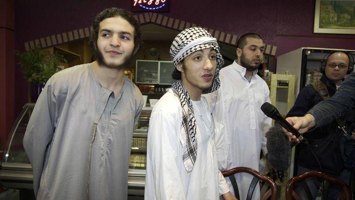 Leden van de islamitische organisatie Sharia4Holland
