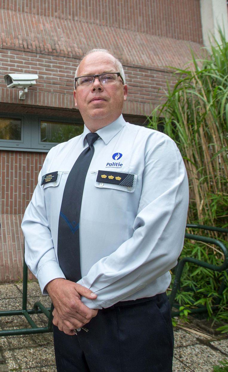 Korpschef Mark Crispel Beeld Mozkito